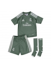 Real Madrid Home Goalkeeper Mini Kit 2017-18