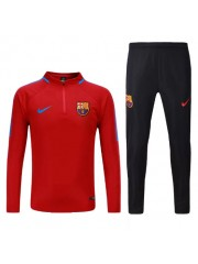 Barcelona Red Tracksuits - 2017/2018 Kids