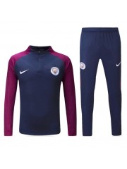Manchester City Sapphire Tracksuits 2017/2018
