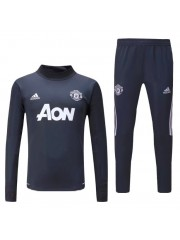 Manchester United Grey Tracksuit 2017/2018