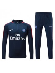 Paris Saint Germain Blue Tracksuits  2017/2018