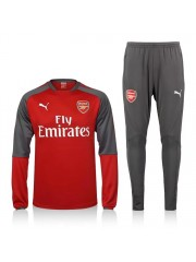 Arsenal Red Tracksuit 2017/2018