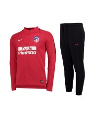 Atletico Madrid Squad Red Tracksuits 2017/2018 Kids