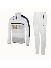 Italy 1/4 Zip Training Top White 2017/2018