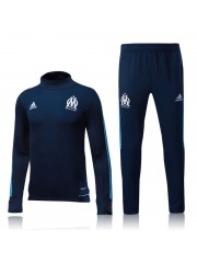 Olympique Marseille Dark Blue Tracksuits 2017/2018