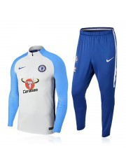 Chelsea White&Blue Tracksuits 2017/2018