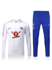 Chelsea White Tracksuits 2017/2018