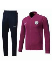 Manchester City Purple Jacket 2017/2018