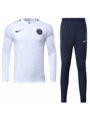 Paris Saint Germain White Tracksuits 2017/2018