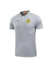 Borussia Dortmund Grey Polo 2017