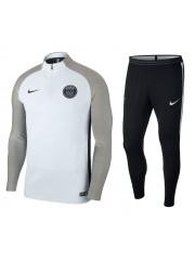 Paris Saint Germain White Tracksuits 2017/2018 - Player Version