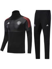 Manchester United UCL Black Tracksuit 2017/2018