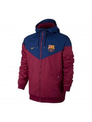 Barcelona Authentic Woven Windrunner - Red
