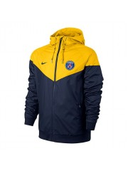 Paris Saint Germain Authentic Windrunner - Navy - Yellow