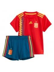 Spain Kids World Cup Home Jerseys 2018