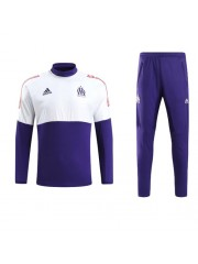 Olympique Marseille UCL Tracksuit (White) 2017/2018