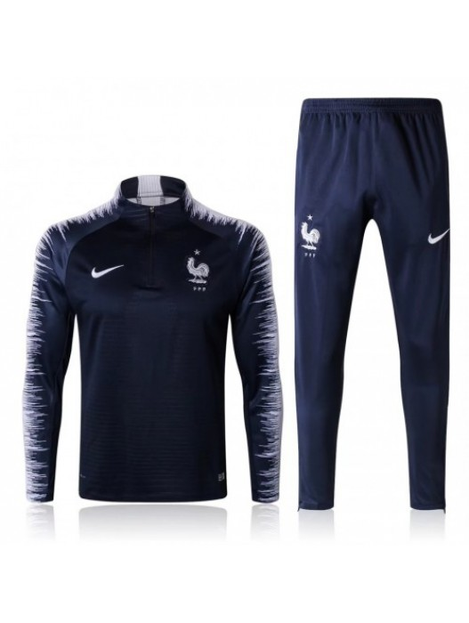 FRANCE NAVY TRACKSUITS KITS 2018 - PLAYER