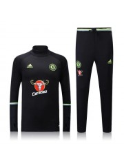Chelsea Black Tracksuits 2016/2017