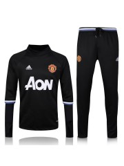 Manchester United Black Tracksuit 2016/2017