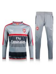 Arsenal Grey Tracksuit 2016/2017