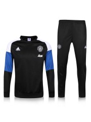 Manchester United Black Tracksuit 2016/2017 -2