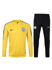 Manchester City Yellow Tracksuits 2016/2017